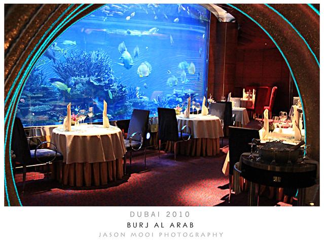 Burj al arab underwater restaurant flickr photo sharing for Burj al arab underwater room