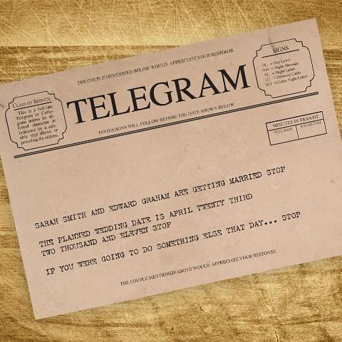 funniest ceremony telegrams