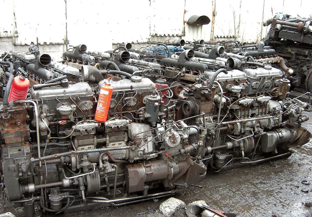 Gardner 6lxb Diesel Engines From Ex West Midlands Metro Flickr