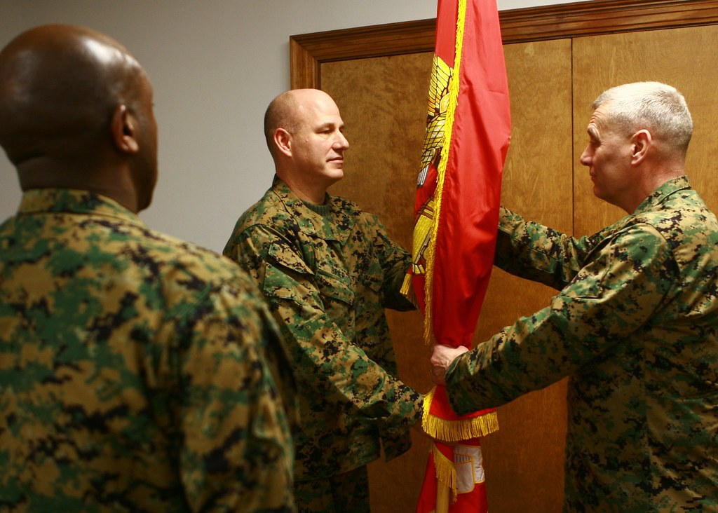 Lt gen paxton assumes command of ii marine expeditionary flickr