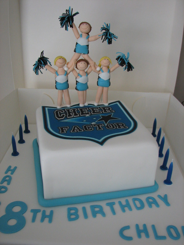 Cheerleader Cake Ideas
