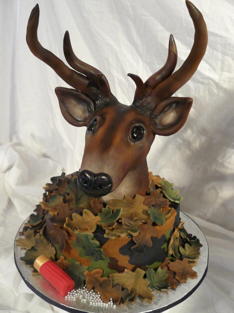 Deer Head Cake Pictures