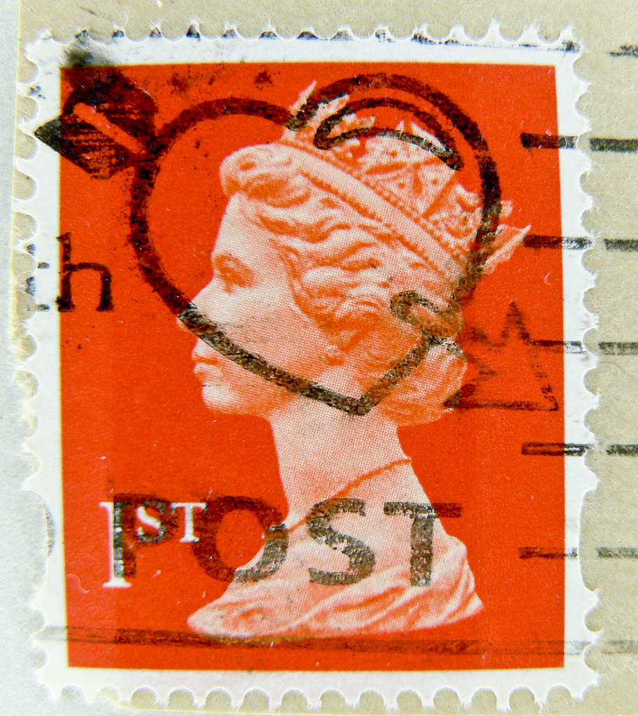 beautiful stamp great britain uk gb 1st