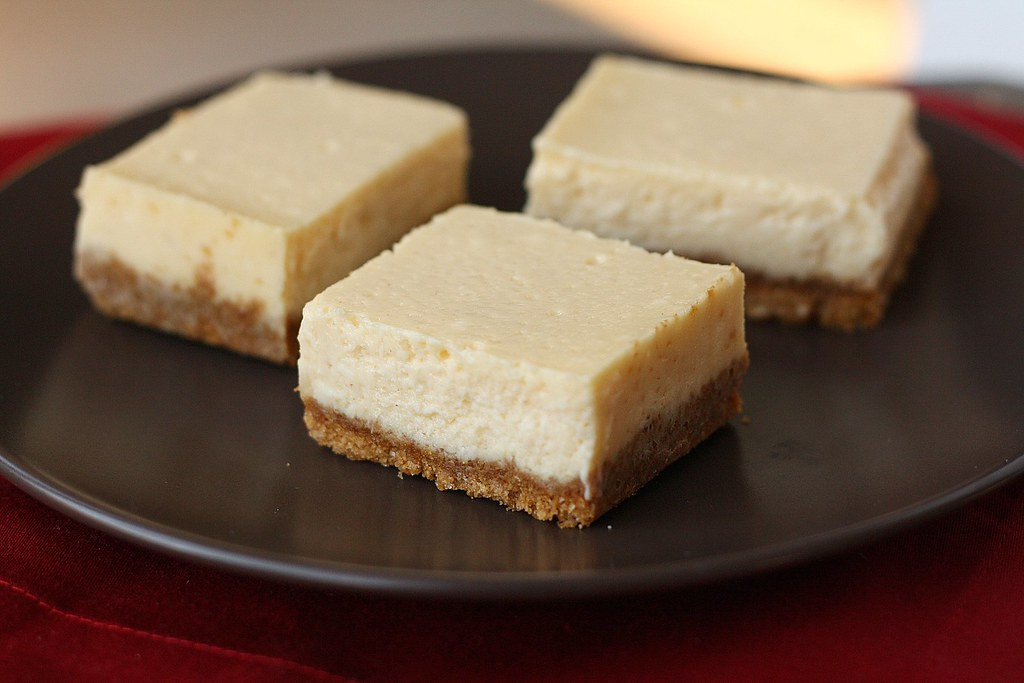 Eggnog Cheesecake Bars | traceysculinaryadventures ...