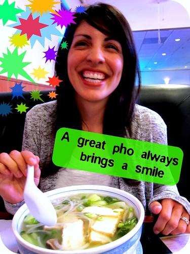 a great pho always brings a smile | by Tricia Wang 王圣捷
