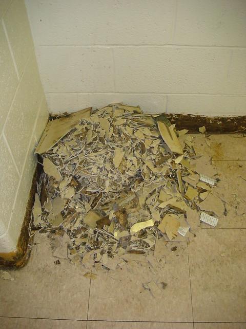 Pulverized Asbestos Floor Tile Flickr Photo Sharing