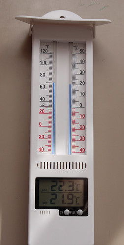 Modern 'Gardman' Maximum-Minimum Patented Thermometer ...