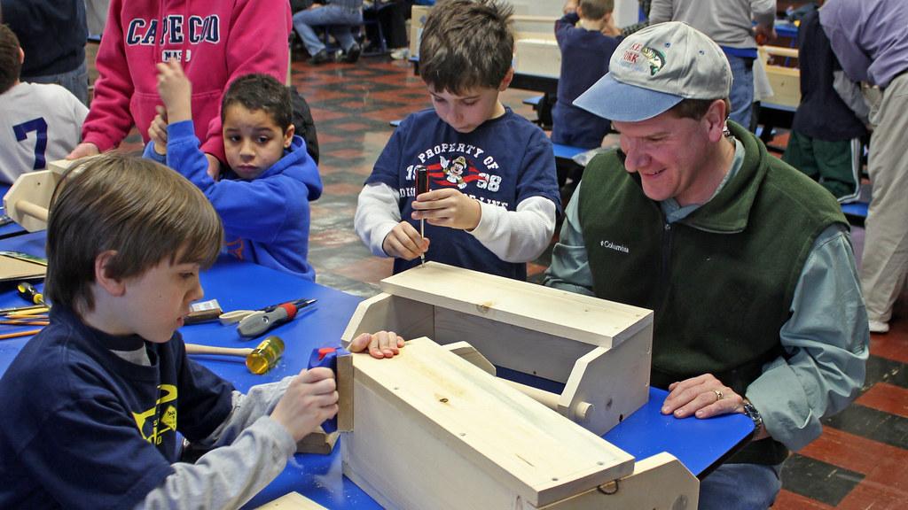 saturday cub scout woodworking project | woodleywonderworks | Flickr
