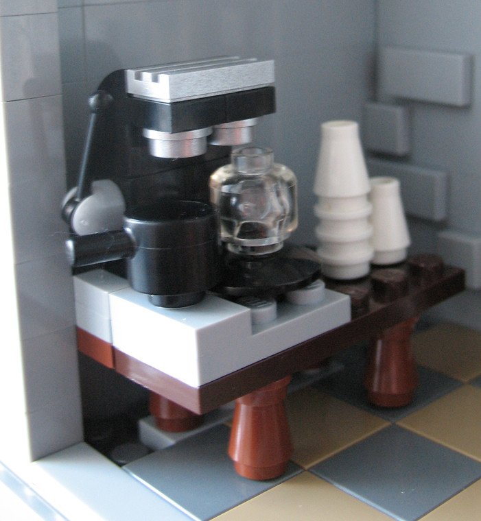 R B Machine A Cafe