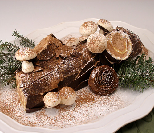Woodland buche de noel gluten free the popular - Decorations exterieures de noel ...