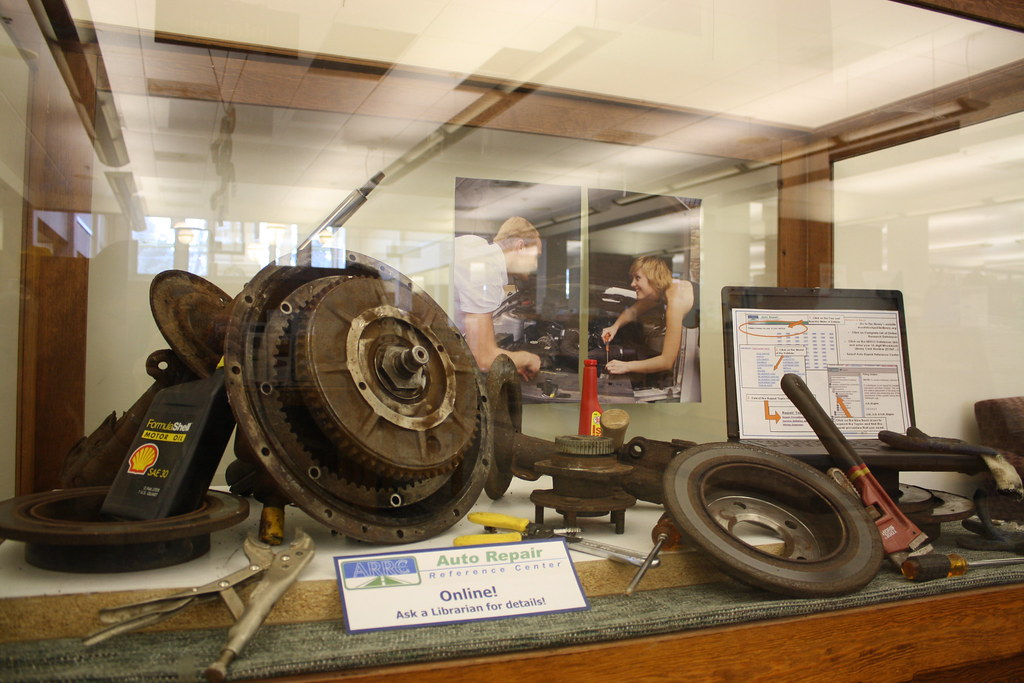 Auto Repair Reference Center Display Have You Noticed