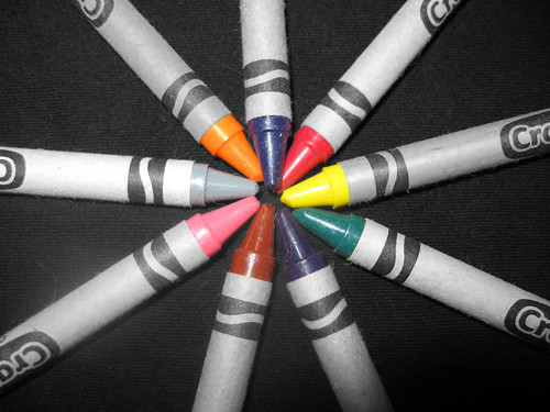 Color splash crayons | by tiaragwin