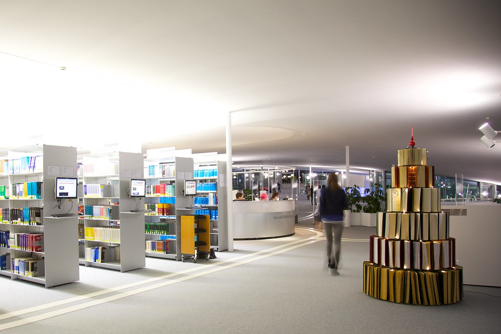 Christmas at the rolex learning center this year we for Design 4 office lausanne