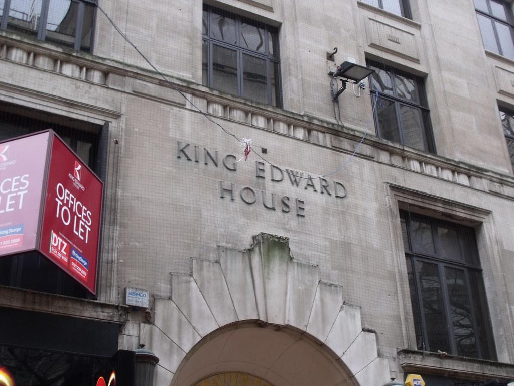 King Edward House, New Street, Birmingham - sign   Shots ...