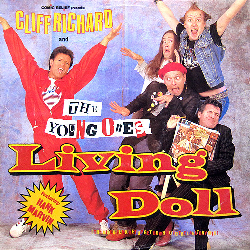 Say G'day Saturday Linky Party Cliff Richard and the Young Ones