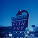 Bob and Ron's Fish Fry, Albany, N.Y., Kodachrome 40 w/o filter