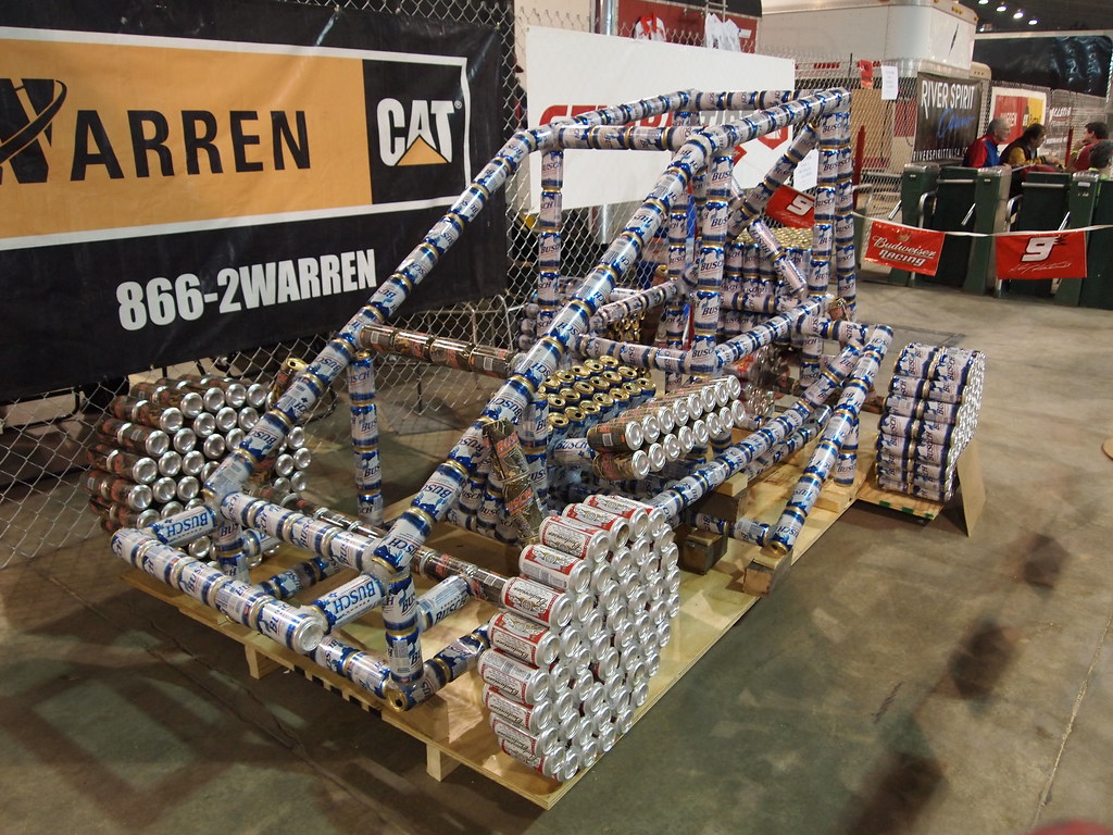 How To Get A Free Car >> Sprint Car Made of Beer Cans | It did get better as the ...