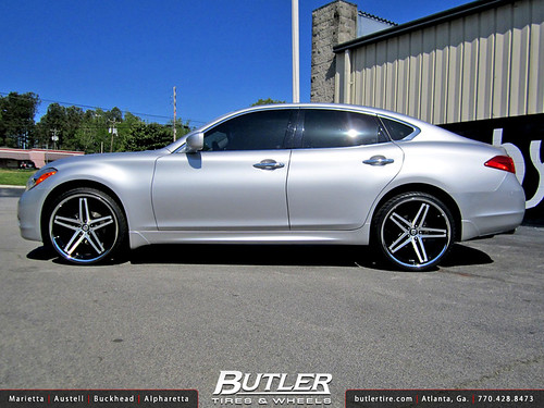Infiniti M37 With 22in Lexani R Five Wheel Flickr