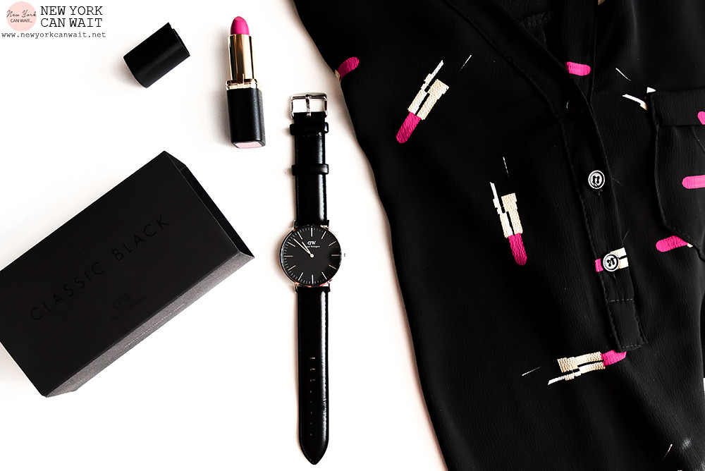 Anteprima || Daniel Wellington Classic Black. [Coupon Code -15%]