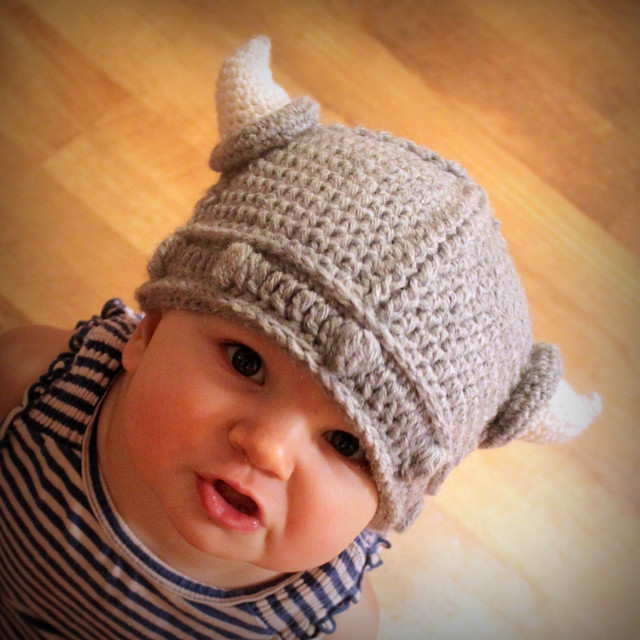Knitting Patterns For Viking Hat : Viking Hat Crochet Pattern Flickr - Photo Sharing!