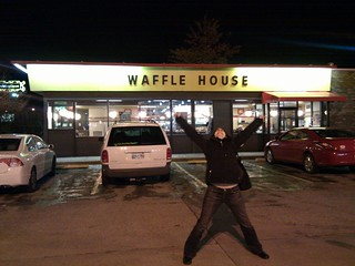 Waffle house, @pythonchelle in Nashville | by selena marie