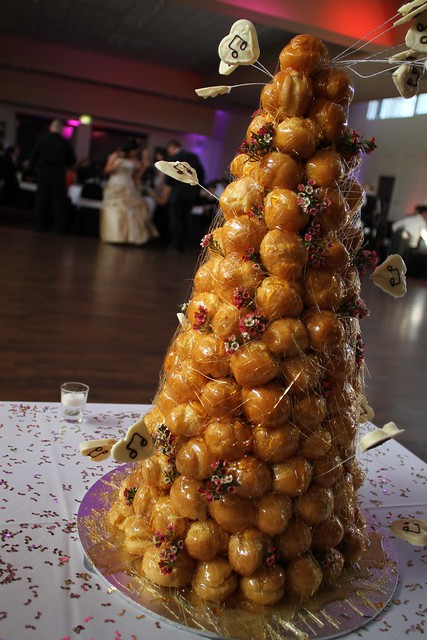 Profiterole Tower Cake War
