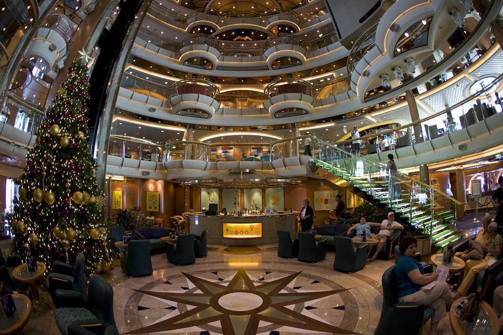 Jewel Of The Seas Interior Of The Jewel Of The Seas