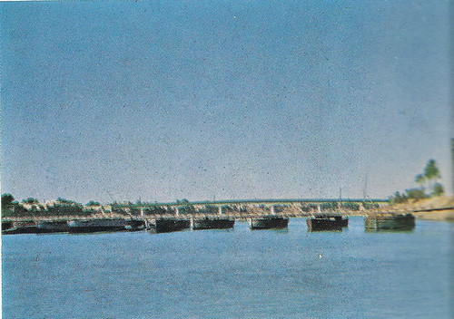 Al-aema Bridge in Khadumeya 1955