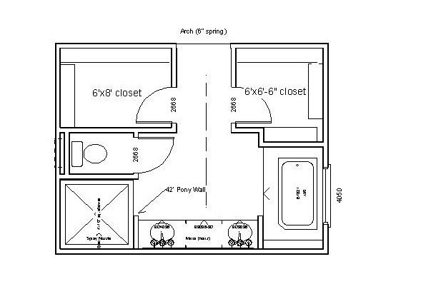 Master Bath Layout Lfc2x4 Flickr