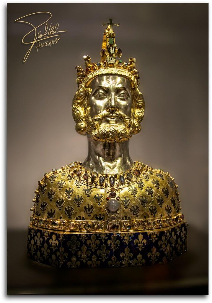 Karl der Große   Bust of Charles the Great (Karl der Große