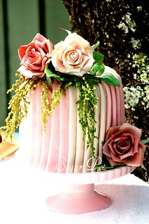 Pleated cake | by Sugar Pot