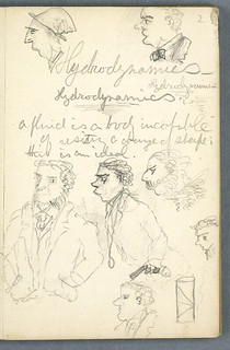 Robert Louis Stevenson University Notebook | by National Library of Scotland