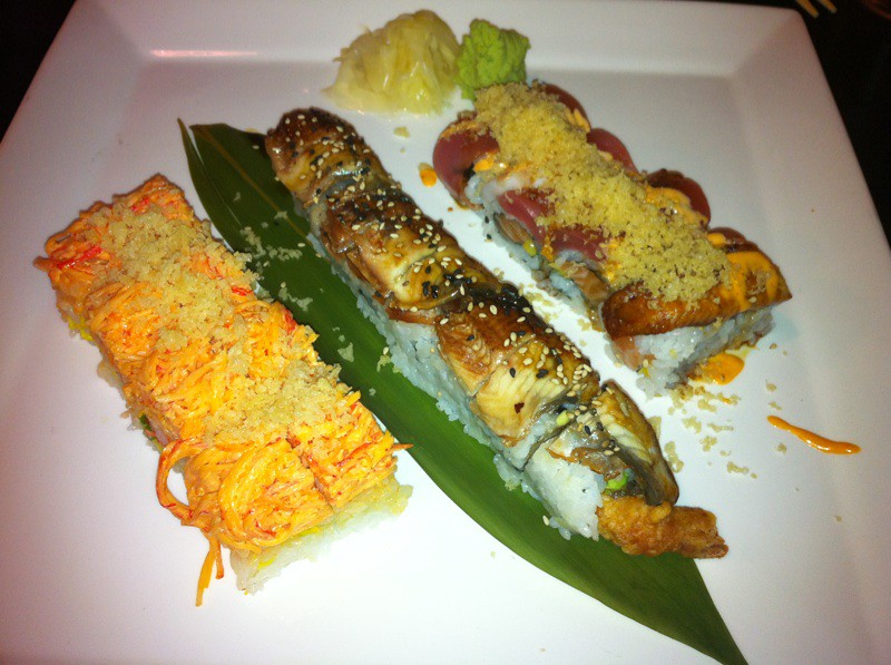Sushi jasmine chinese cuisine and sushi spotted on for Adaro sushi pan asian cuisine