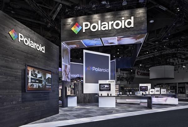 Exhibition Stand Terms And Conditions : Polaroid trade show exhibit by skyline see more examples