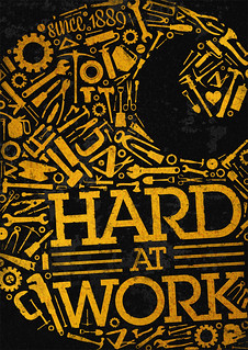 Carhartt Workwear poster | by Coffee made me do it