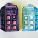 The Tardis - Hand Carved Stamp