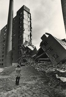 4000px Half-Destroyed building. Photo Credit: Daniel Magidson | by Pruitt-Igoe