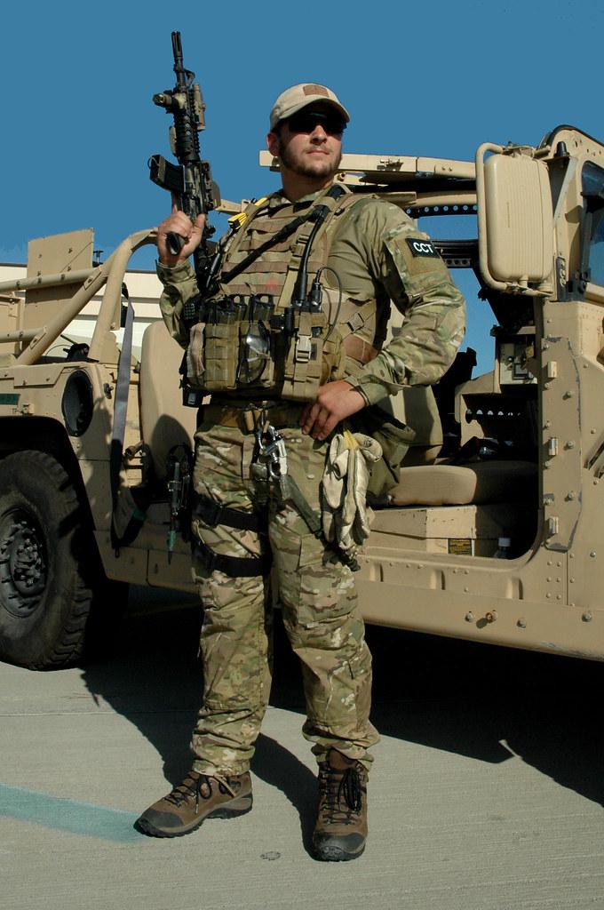us air force combat controller in multicam uniform flickr