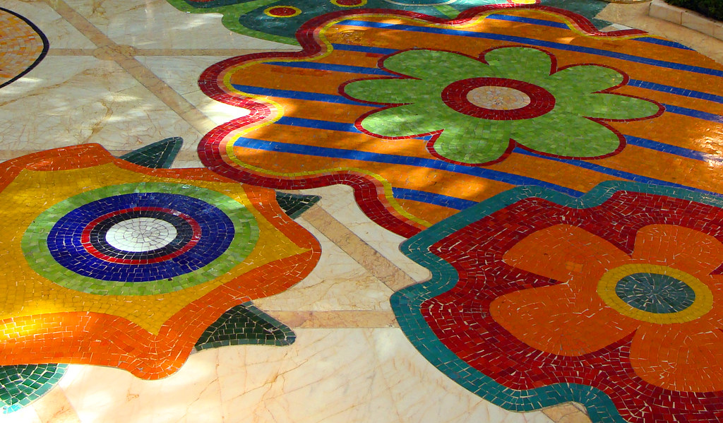 Mosaic Tile Floor At The Wynn Las Vegas Molly Flickr
