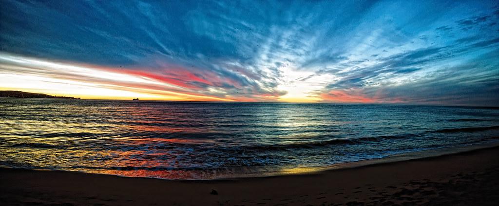 océano pacífico, viña del mar-chile | pacific ocean ...