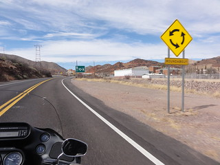 Roundabout sign along Arizona State Route 80 | by ossguy