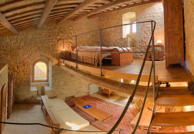 TodiCastle, Tower Loft, Queen size bed  Flickr - Photo Sharing!