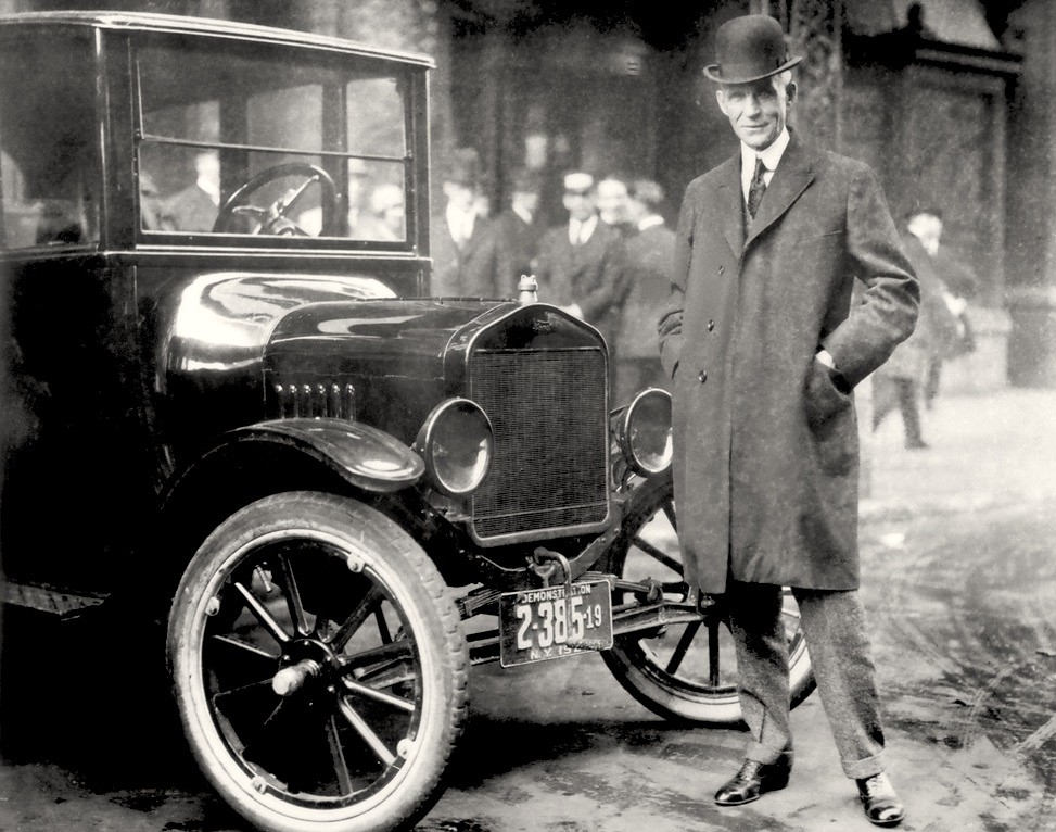 An analysis of the model t ford by henry ford