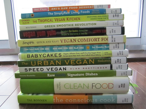 Vegan Cookbooks from the Ottawa Library | by veganbackpacker