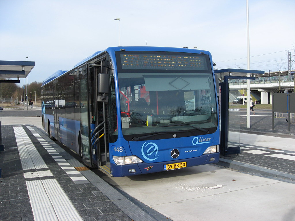 Tcr Bus 448 Amsterdam Station Holendrecht Amc Tcr Bus