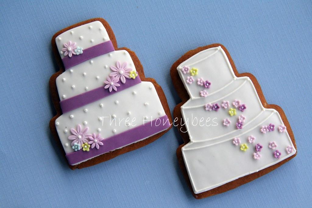 White Wedding Cake Cookies
