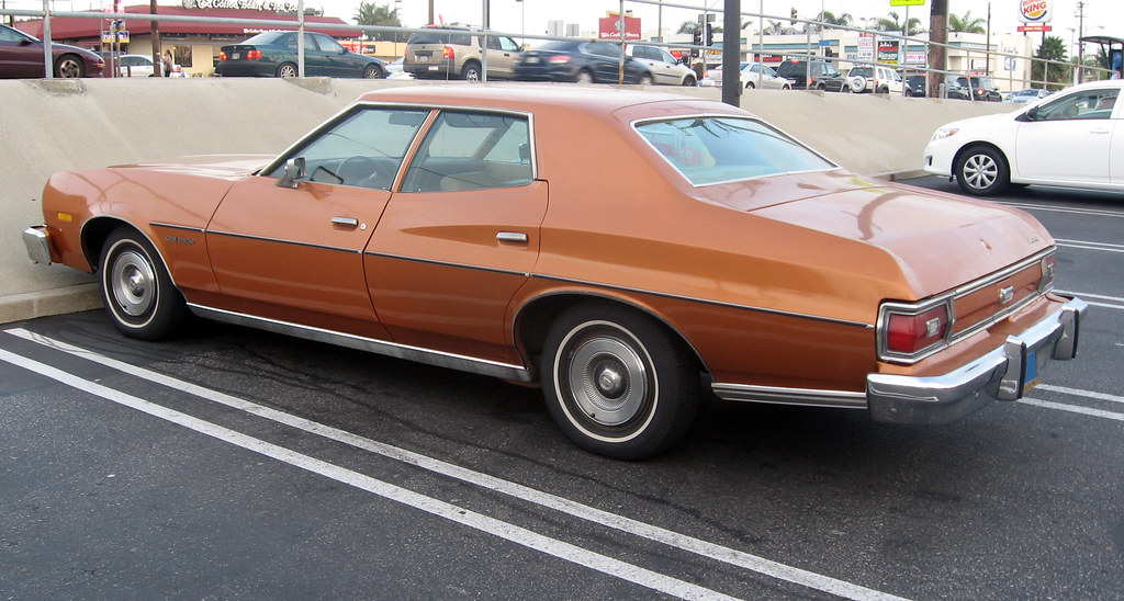 Ford Gran Torino >> 1976 Ford Gran Torino sedan rear 3q | Ate Up With Motor | Flickr