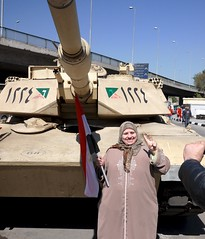 Everyone needs to get their photo taken in front of a tank