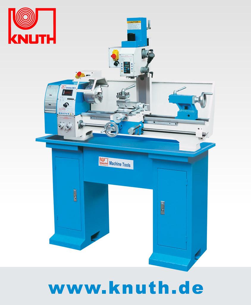 Dreh- Und Fraesmaschine KNUTH Universa 550 V