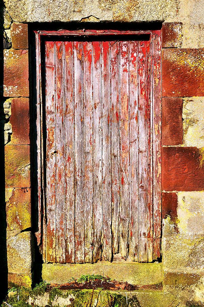 Old Door With Flaky Paint Gordon Robertson Flickr